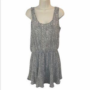 Revolve Three Eighty Two Dress Black White Small